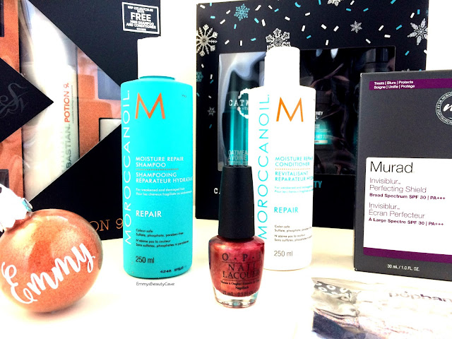 Murad Invisiblur, Moroccan Oil Moisture Repair Shampoo Conditioner, TIGI Catwalk Backstage