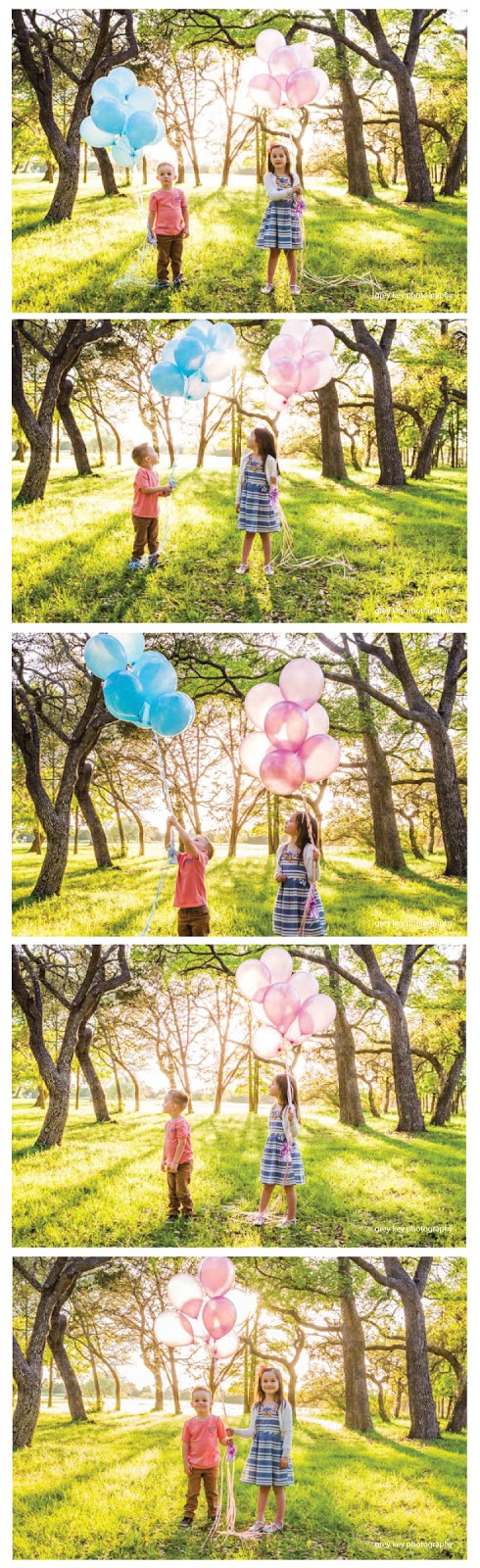 I'm dying over how adorable these photos are!  Such a great idea for baby gender reveal pictures!  |  mynameissnickerdoodle.com