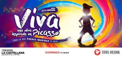¡VIVA! una obra inspirada en Pablo Picasso 1