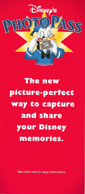 Disney's Photopass The New Way to Share Pamphlet