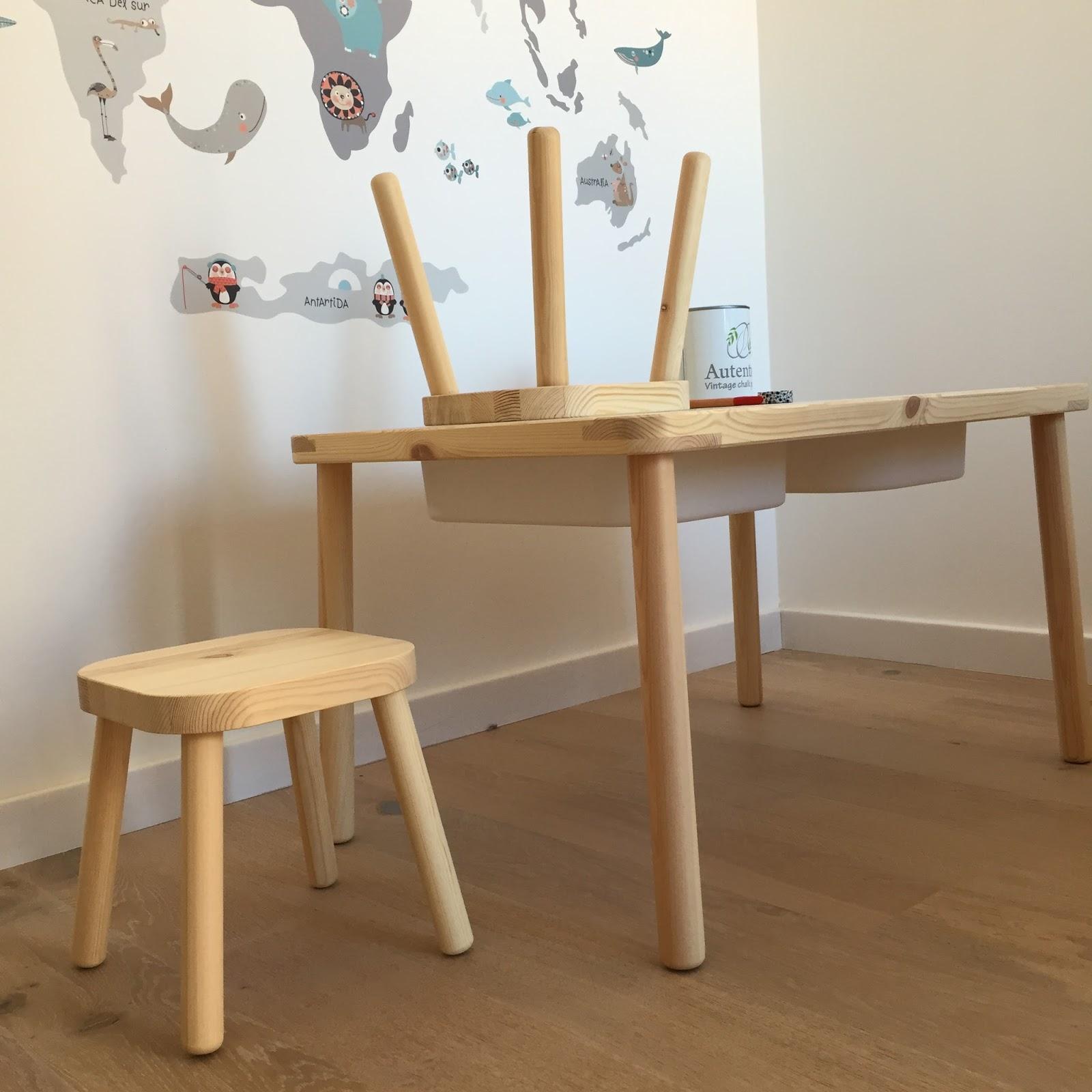 Estoreta quotidien diy muebles montessori de ikea con un - Patas para muebles ikea ...