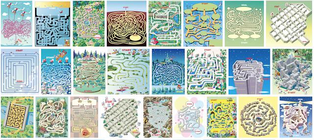 迷路イラスト、イラストレーター、イラストレーター検索、イラスト制作、間違い探し、雑誌イラスト