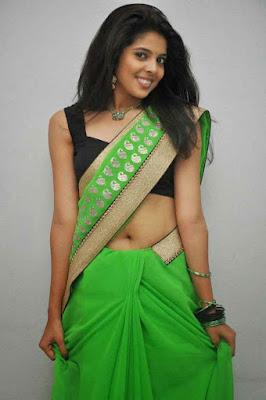 hot saree navel pics