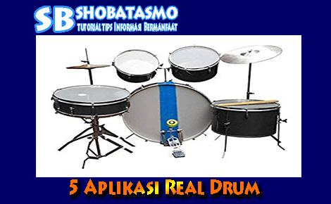 Aplikasi Real Drum Yang Ada Lagunya, Real Drum Banget