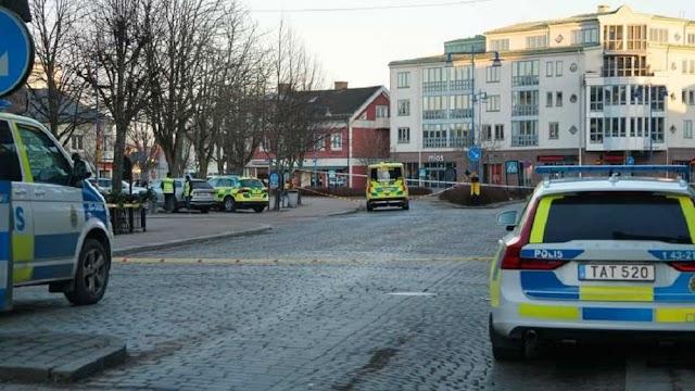 """Σουηδία: Οκτώ τραυματίες σε επίθεση νεαρού άνδρα με μαχαίρι - """"Τρομοκρατικό έγκλημα"""" ερευνά η αστυνομία"""