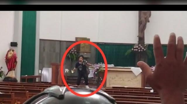 Terkuak, Inilah Identitas Pria yang Menyerang Gereja Katolik di Jogja