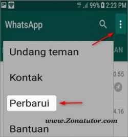 Cara Perbarui Aplikasi WhatsApp Ke Versi Terbaru