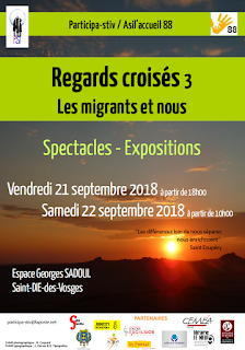 Affiche REGARDS CROISÉS 2018