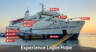 Logos Hope em Belém