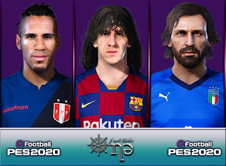 PES 2020 Facepack v1 by One