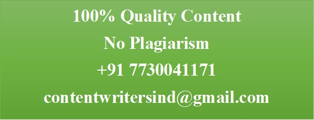 Hire The Best Writers in Hyderabad, Call on +91 7730041171