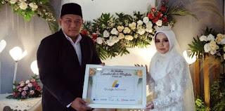 Blogger asal Kediri berikan mahar berupa Adsense kepada istrinya
