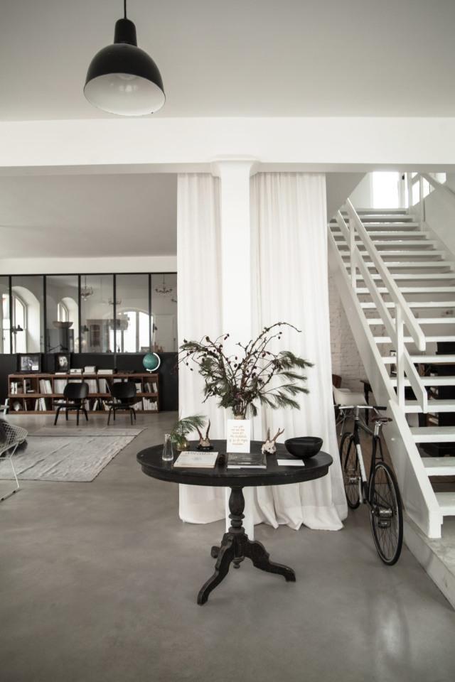 Casa da sogno nella vecchia fabbrica - Il loft della fotografa