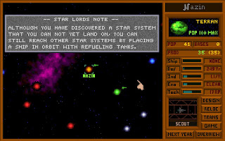 Videojuego Star Lords - Master of Orion