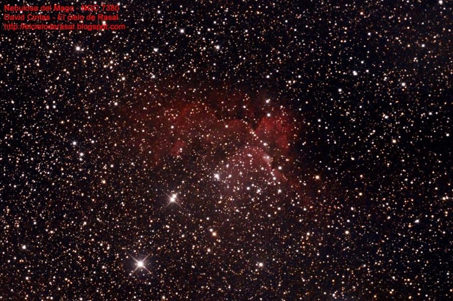 Nebulosa Mago NGC7380 - El cielo de Rasal