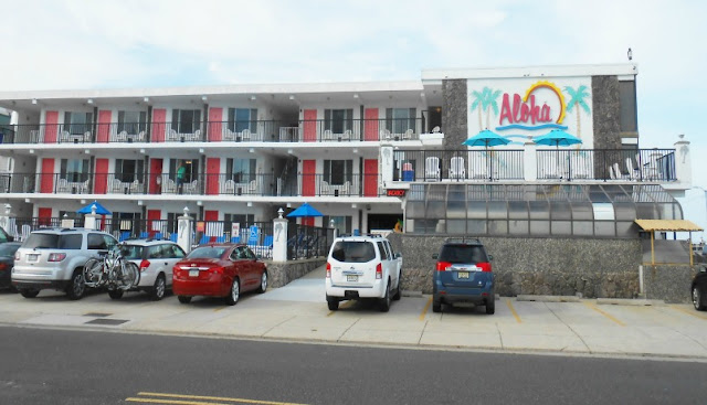 Aloha Oceanfront Motel in North Wildwood New Jersey