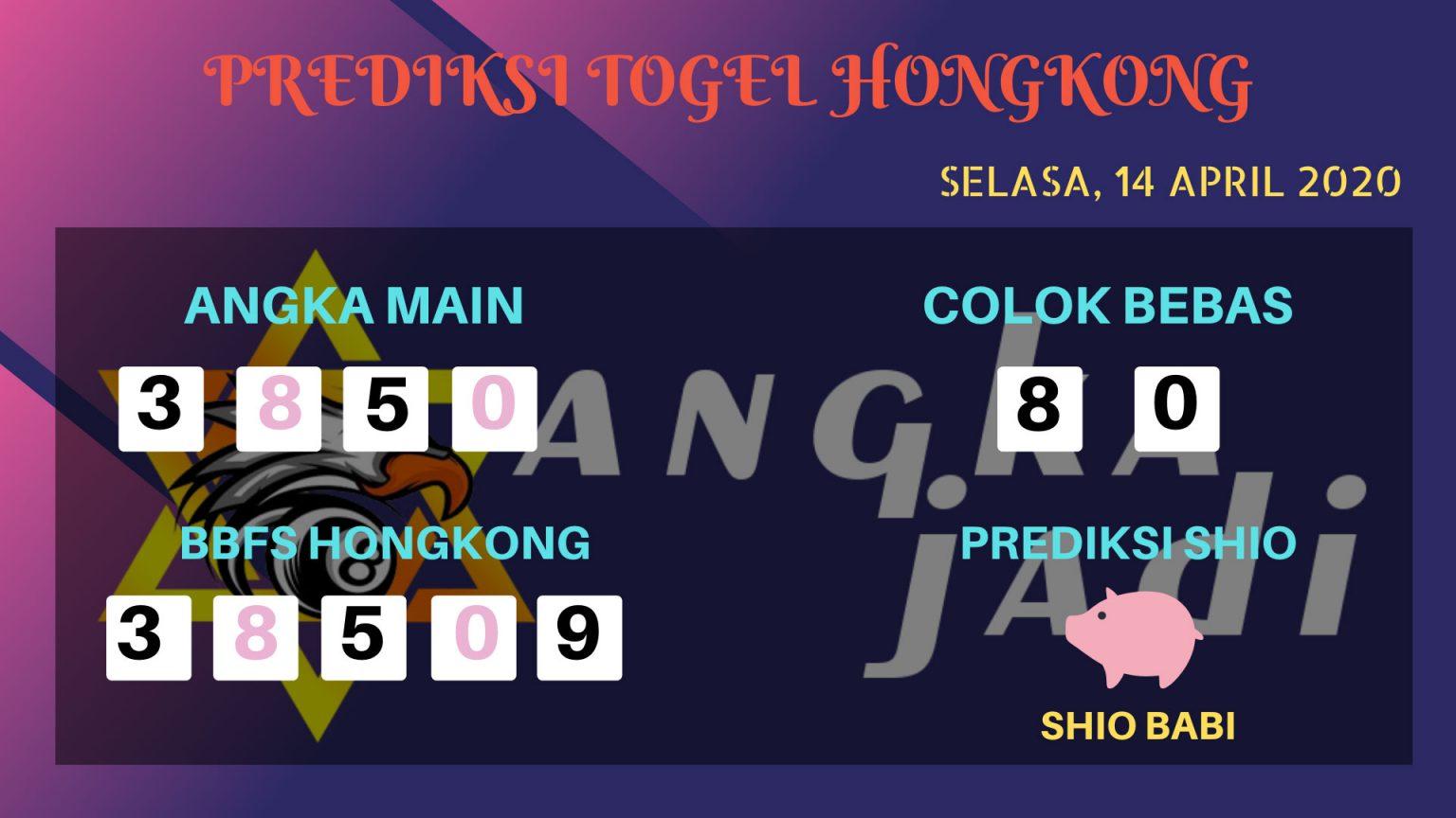 Prediksi HK malam Ini Selasa 14 April 2020 - Prediksi Angka HK