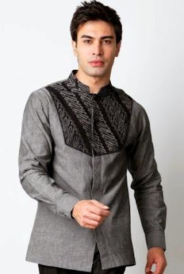 32+ Koleksi Model Baju Muslim Pria Desain Modern Terbaru 2018