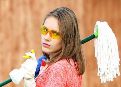 Cómo hacer fregonas o mopas de cuerdas y trapillo