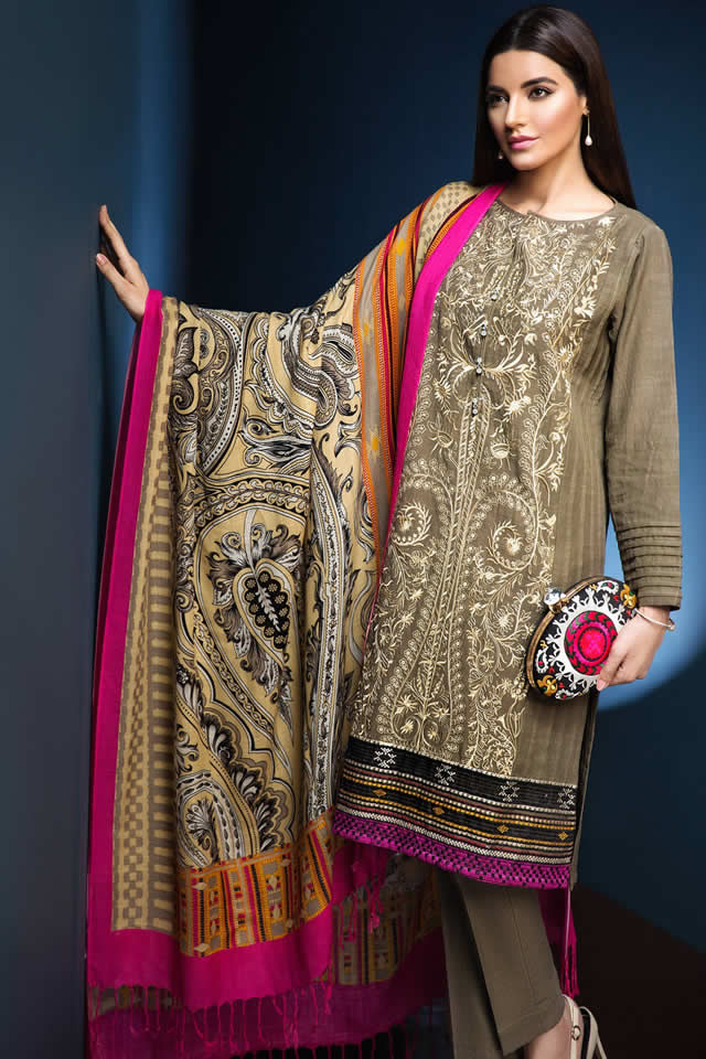 Khaadi Chic and Fancy Evening Winter Wear Dresses ...