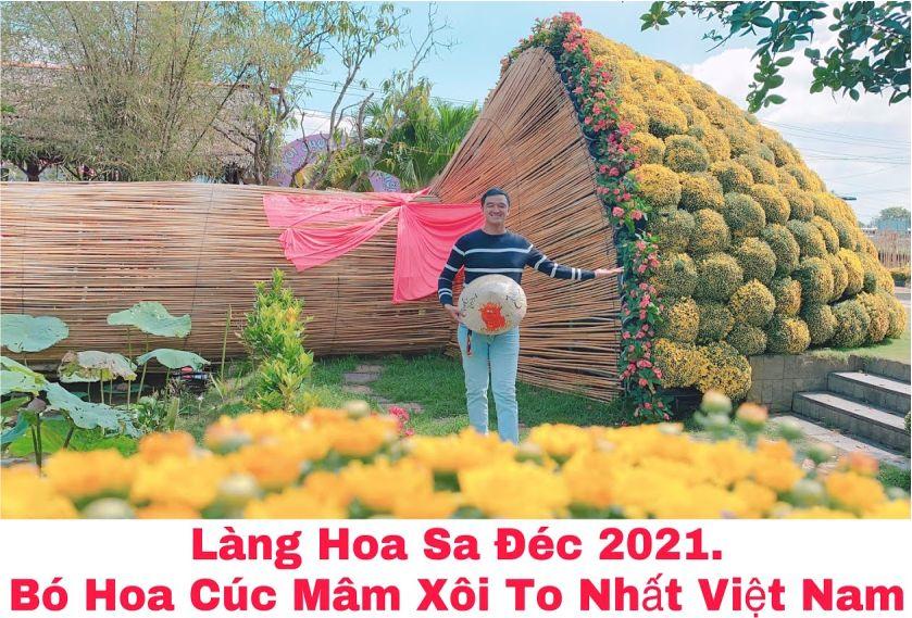 Bó cúc lớn nhất Việt Nam