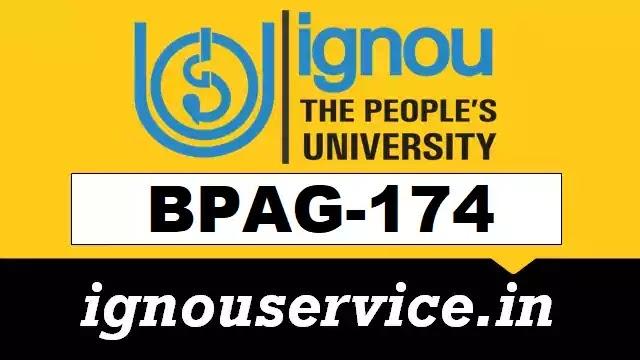 BPAG-174 Solved Assignment Hindi Medium (January 2021)