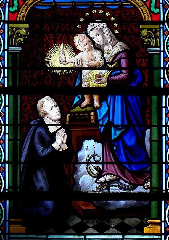 Nas pegadas de Marie des Vallées, São Joãu Eudes pregou que os Corações de Jesus e Maria fazem um só