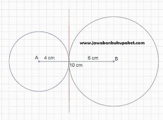 panjang diameter maksimal agar kedua lingkaran www.jawabanbukupaket.com
