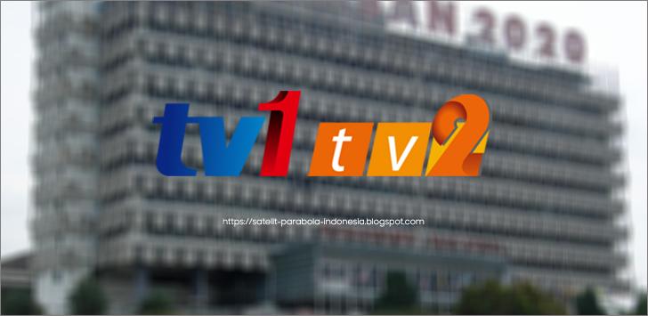 Update Frekuensi RTM TV1 dan TV2 Malaysia