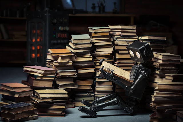What can an algorithm find when it reads a book?
