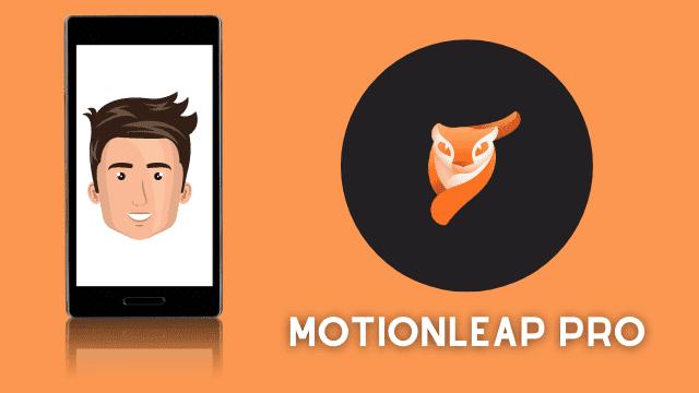 تطبيق تحريك الصور motionleap
