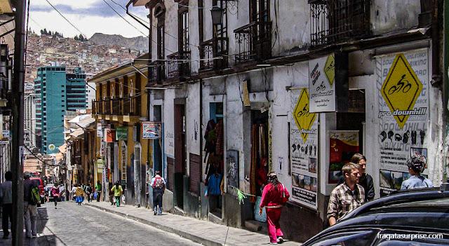 Hospedagem em La Paz, Bolívia, Calle Sagárnaga