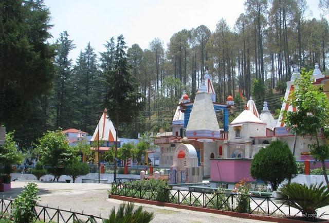 Binsar Mahadev Temple Ranikhet