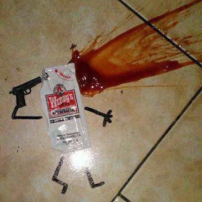 Lustige Bilder über Ketchup - Lebensmittel witzig