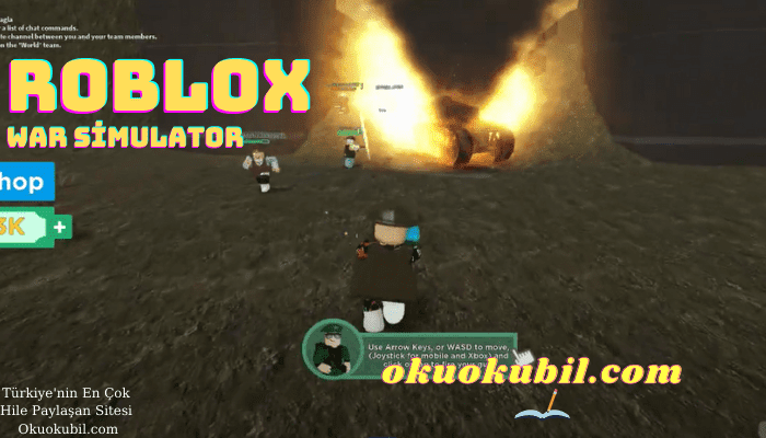 Roblox Yeni War Simulator Mermi Hilesi Türkçe Anlatım Script İndir