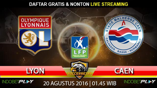 Prediksi Lyon vs Caen 20 Agustus 2016 (Liga Prancis)