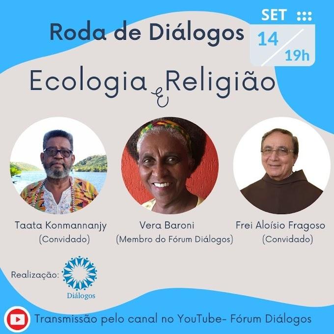 Fórum da Diversidade Religiosa de PE, retoma Lives temáticas, em setembro com tema 'Ecologia e Religião'
