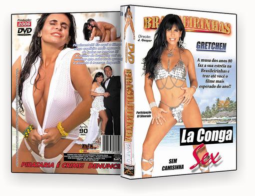 Brasileirinahs – La Conga Sex DVD-R