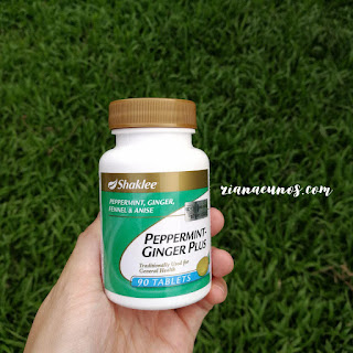 Kebaikan Peppermint Ginger Plus Shaklee