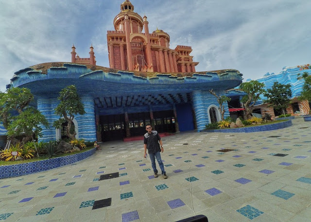 Atlantis Land Wahana Baru di Pantai Ria Kenjeran