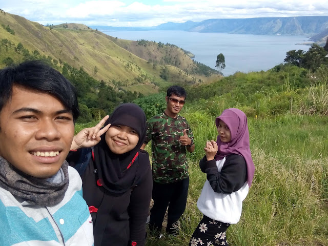 Panorama Air Terjun Sipiso-Piso Sumatera Utara