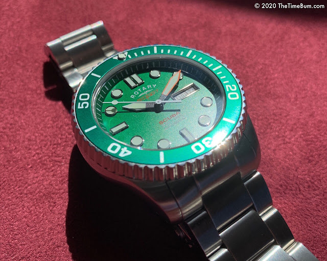 Rotary Super 7 Scuba for WatchNation green