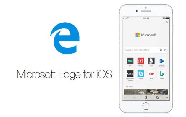 تحديث إصدار المعاينة لمتصفح Microsoft Edge على iOS