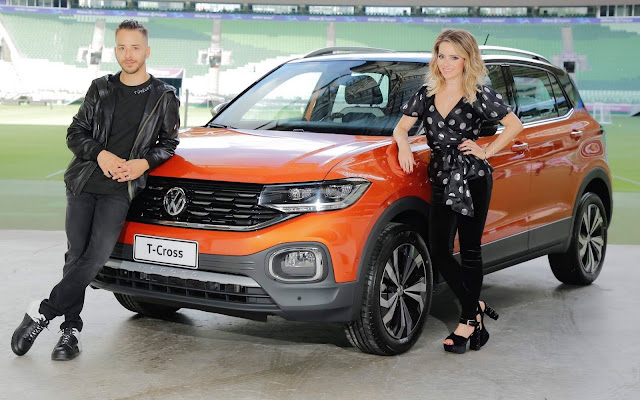 Volkswagen T-Cross - dupla Sandy & Junior