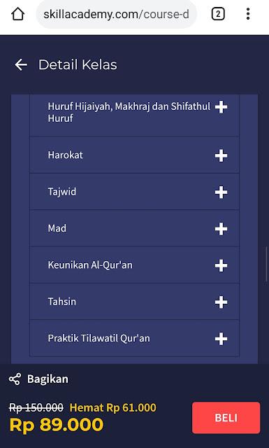 Belajar Mengaji Agar Fasih Baca Al Quran Bersama Skill Academy by Ruangguru