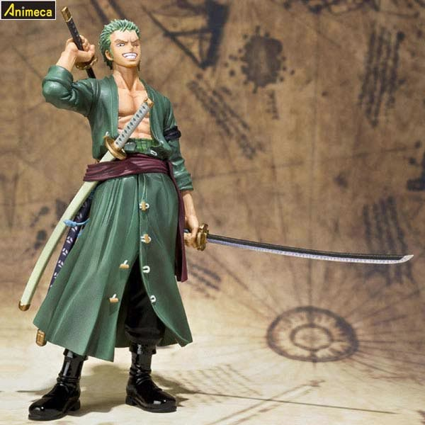 FIGURA RORONOA ZORO The New World Arc Ver. Figuarts ZERO ONE PIECE