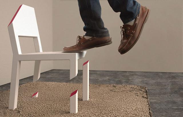 20 Desain kursi paling unik, kreatif dan keren dari kayu