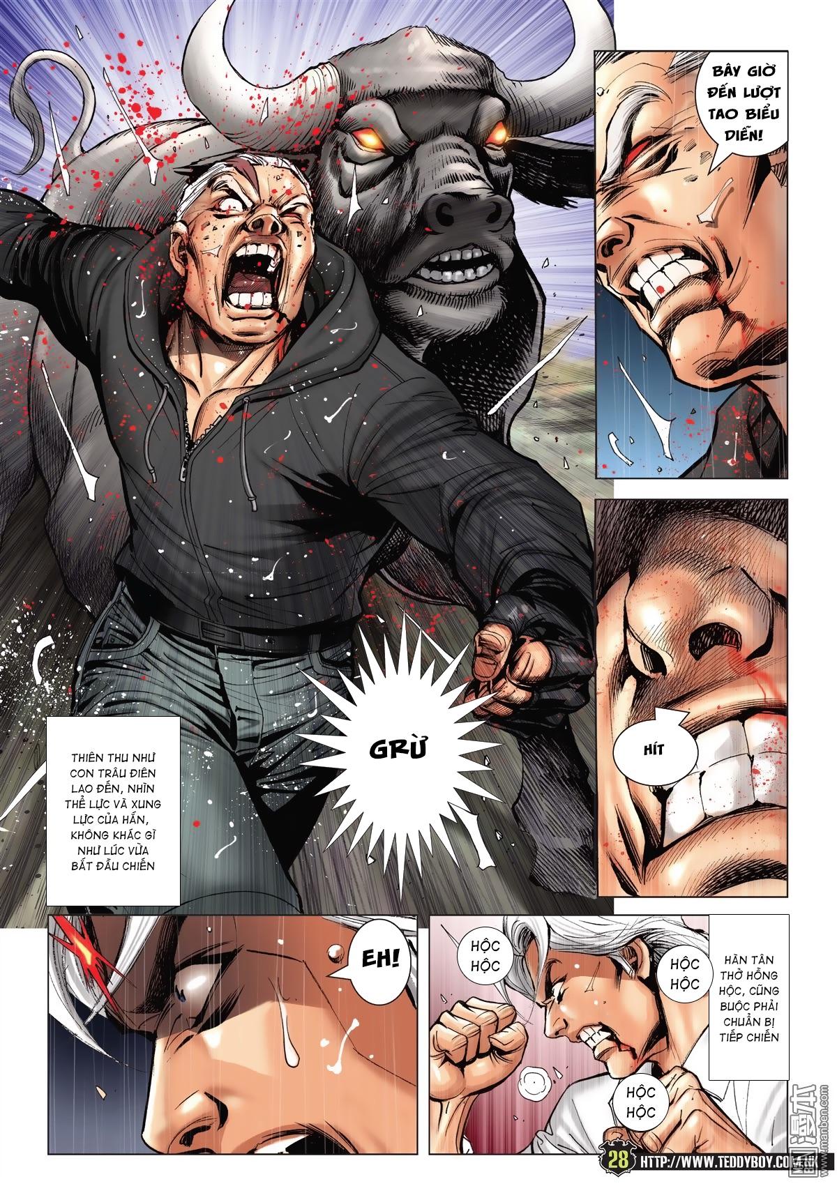 Người Trong Giang Hồ chapter 2052: hàn tân chiến thiên thu 3 trang 27