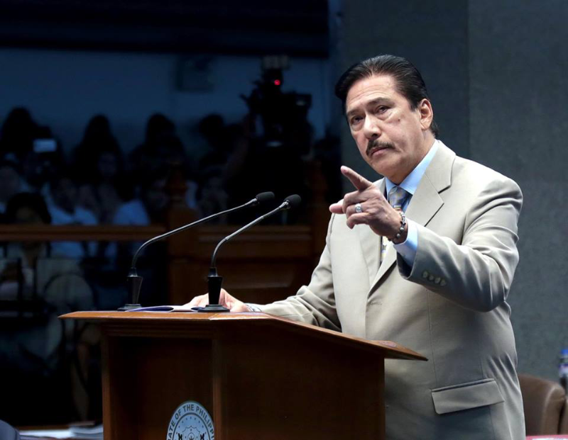 Sotto proposes bill versus fake news