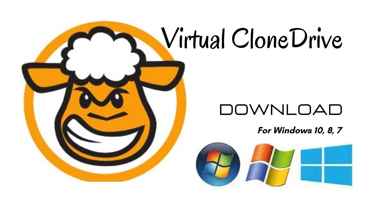 Virtual CloneDrive Download Latest Version for Windows 10, 8, 7